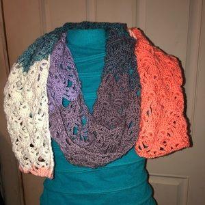 Handmade crochet Lace Scarf
